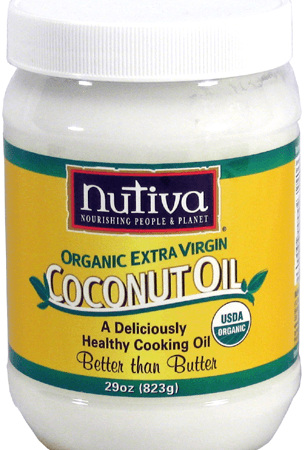 Nutiva Extra Virgin Coconut Oil 29 oz. Jar – Organic