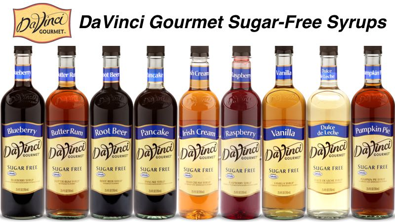 DaVinci Gourmet Sugar-Free Syrups