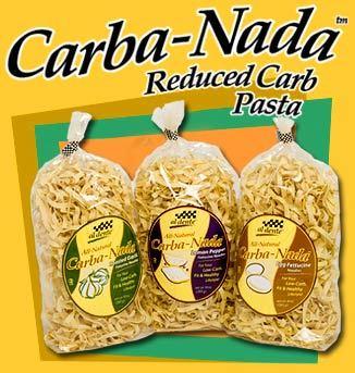 Carba-Nada Lower Carb Pasta