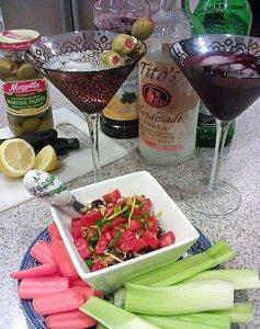 Classic Dirty Martini