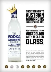 Monopolowa ad by B. Creative Advertising and Design.