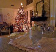 Low Carb Eggnog in a Christmas Vacation moose mug!