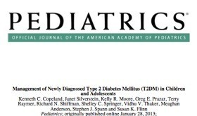 The New American Academy of Pediatrics Diabetes Guidelines for Children