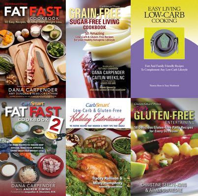 Order CarbSmart 6 Cookbook Bundle