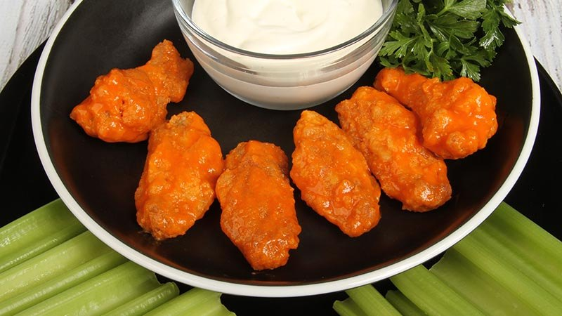 Low-Carb Gluten-Free Hot Wings Recipe
