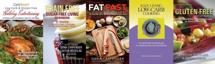 CarbSmart Low-Carb & Gluten-Free Holiday Cookbook Bundle