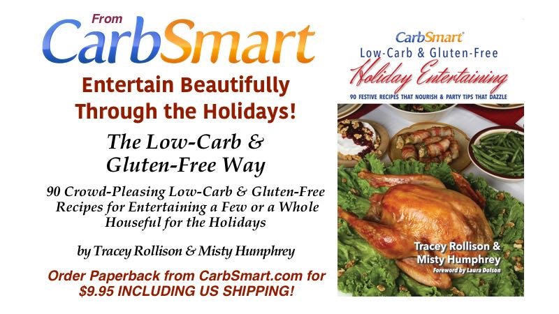 CarbSmart Low-Carb & Gluten-Free Holiday Entertaining Sale