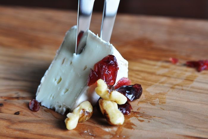 Cranberry Walnut Brie Recipe from CarbSmart Low-Carb & Gluten-Free Holiday Entertaining Cookbook