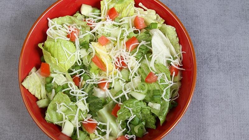 Simple Garden Salad Low-Carb Gluten-Free Recipe