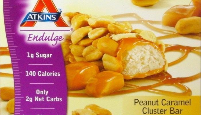 Atkins Endulge Peanut Caramel Cluster Bars