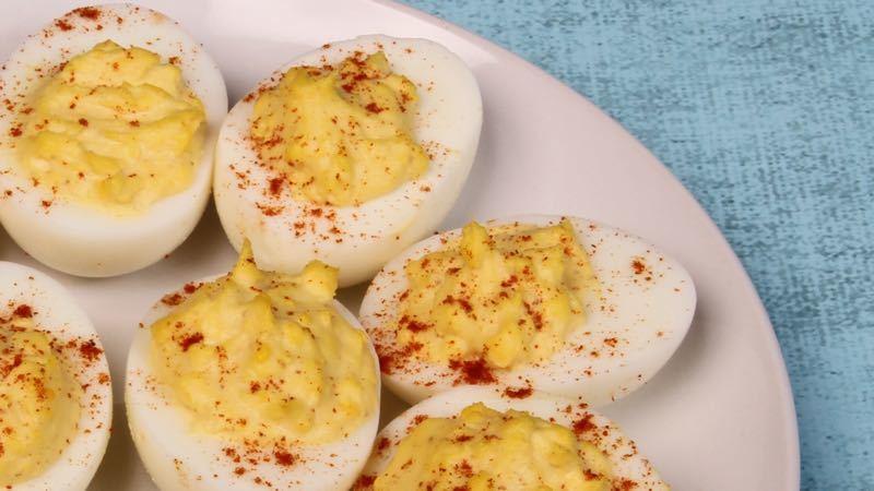 Low-Carb Southwest Deviled Eggs Recipe