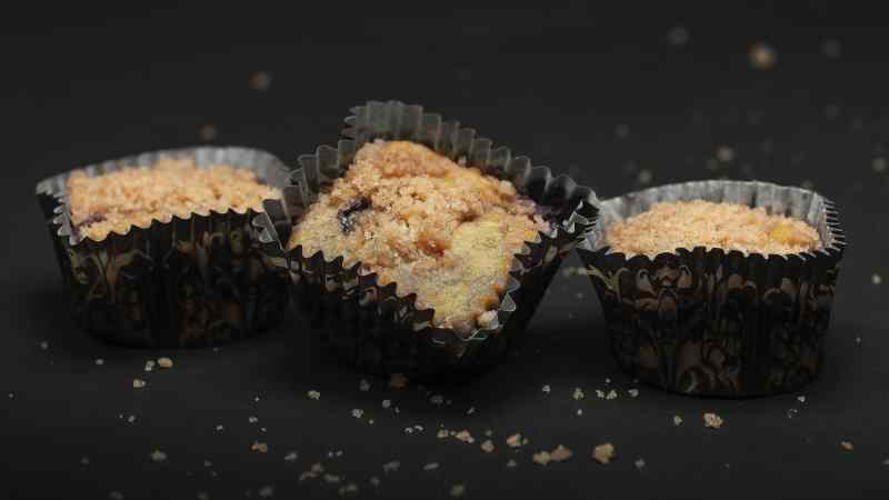 Chocolate Streusel Muffin Low-Carb Gluten-Free Recipe