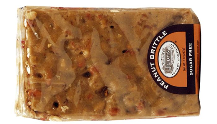 Judy's Candy Co. Sugar Free Peanut Brittle 8 oz.