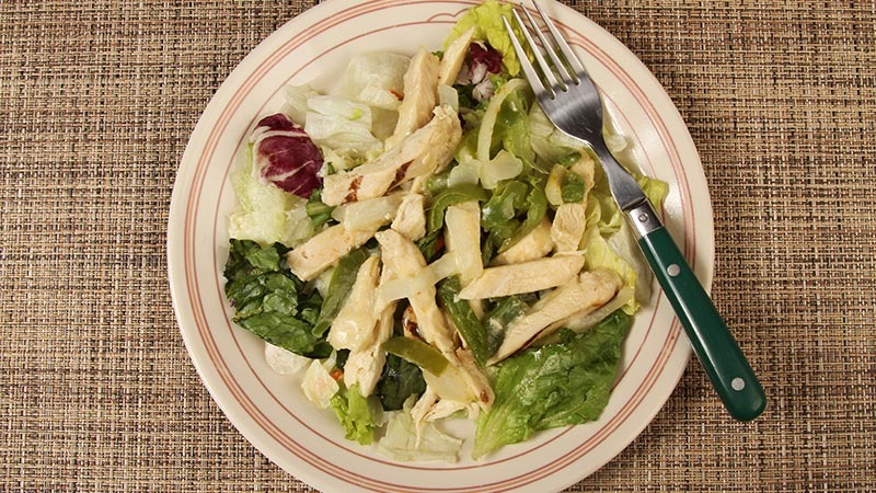 Low-Carb Hot Philly Chicken Salad For Two Recipe