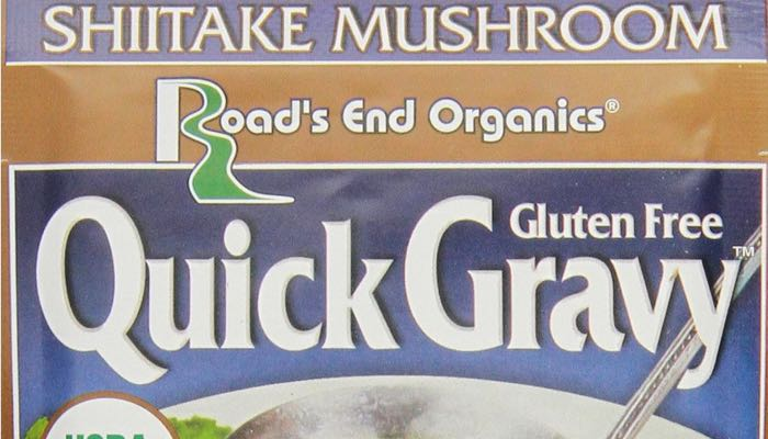 Shiitake Mushroom Road's End Organics Low Carb & Gluten Free Gravy Mix