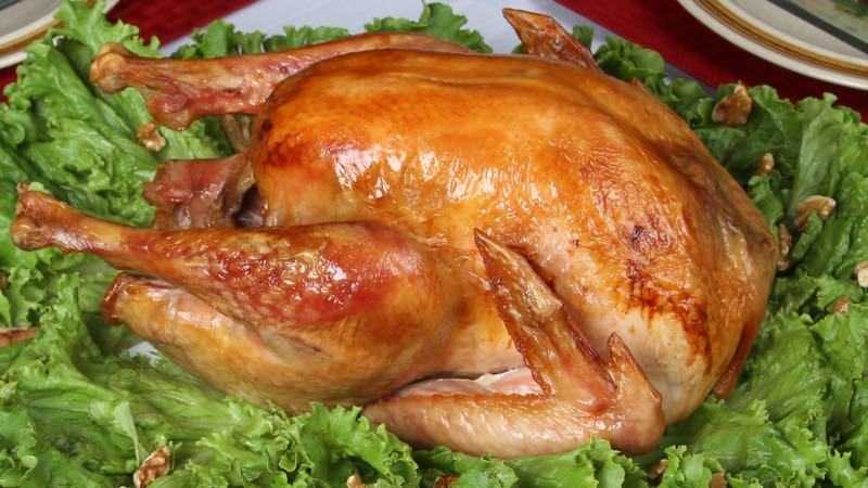 Zesty Roast Turkey Recipe