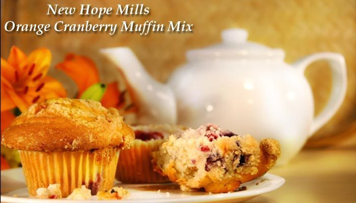 New Hope Mills Orange Cranberry Muffin & Bread Mix