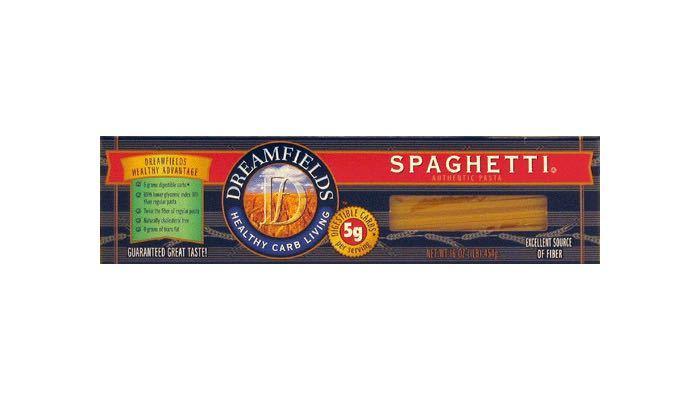 Dreamfields Spaghetti Low Carb Pasta