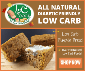LC-Foods Low-Carb Pumpkin Bread