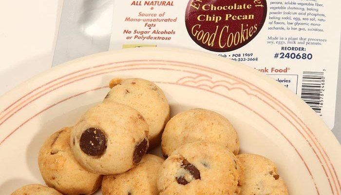 Chocolate Chip Pecan Dixie Carb Counters Ready-to-Eat Good Cookie 4 oz. bag
