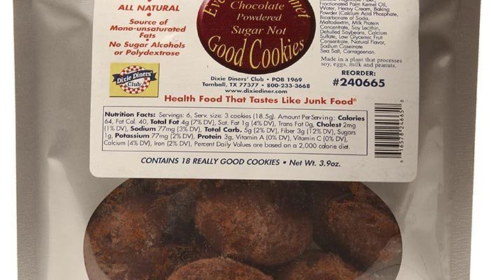 Dixie Carb Counters Chocolate Powdered Sugar Not Good Cookies