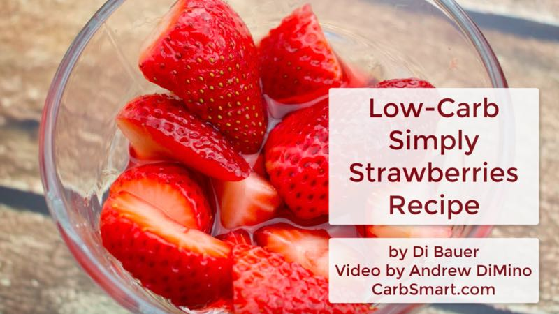 Low-Carb Simply Strawberries Recipe Video