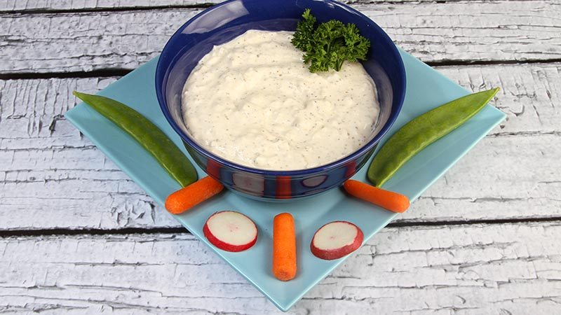 Low-Carb Gluten-Free Spicy Vegetable Dip Recipe