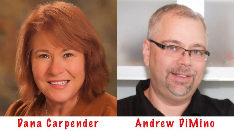 Dana Carpender and Andrew DiMino of Fat Fast Cookbook 2