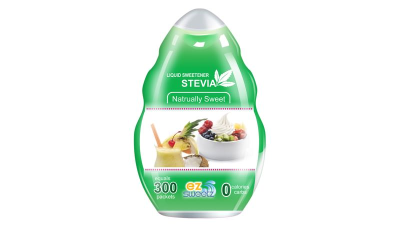 EZ-Sweetz Liquid Stevia Sweetener (300 Servings/Bottle)