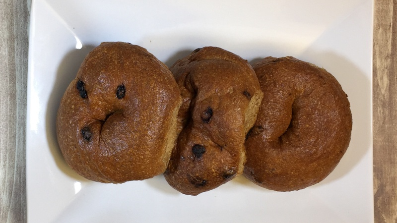 Low-Carb LC-NY Style Cinnamon Raisin Bagels by LC Foods