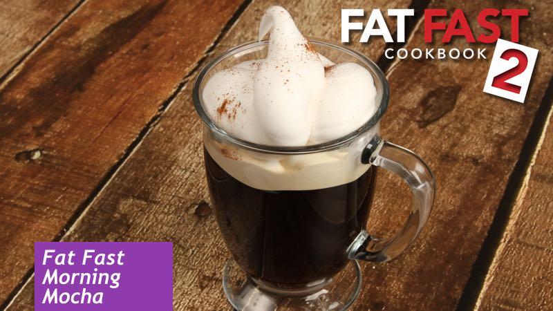 Morning Mocha Fat Fast Recipe from Fat Fast Cookbook