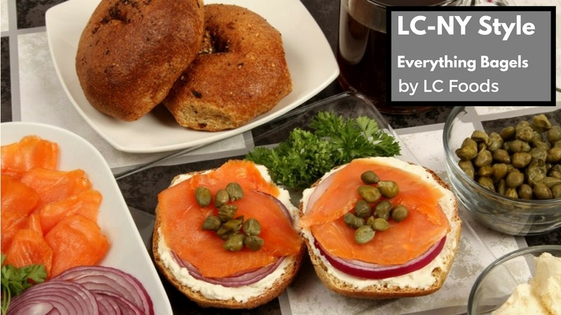 Low-Carb LC-NY Style Everything Bagels by LC Foods Review