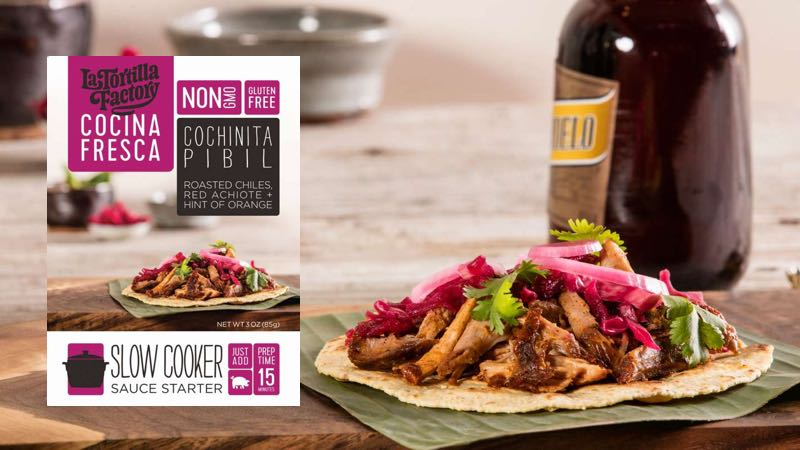 Cochinita Pibil Slow Cooker Starter from La Tortilla Factory – Gluten-Free & Low-Carb