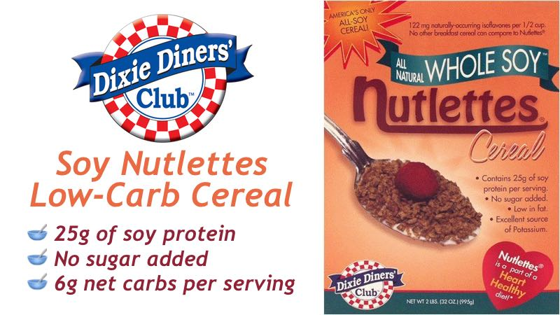 Dixie Carb Counters Soy Nutlettes 2lb box