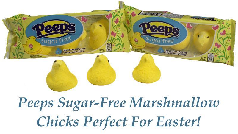 Peeps Sugar-Free Marshmallow Chicks