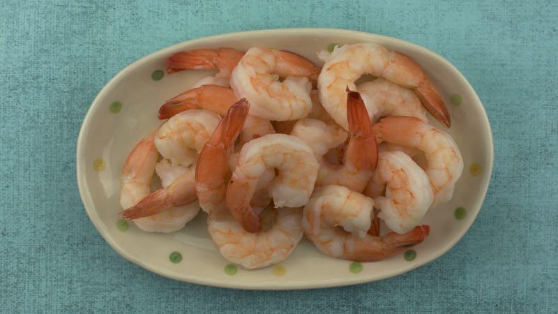 Low-Carb, Gluten-Free Garlic Prawns Recipe - 16 large shrimp or prawns