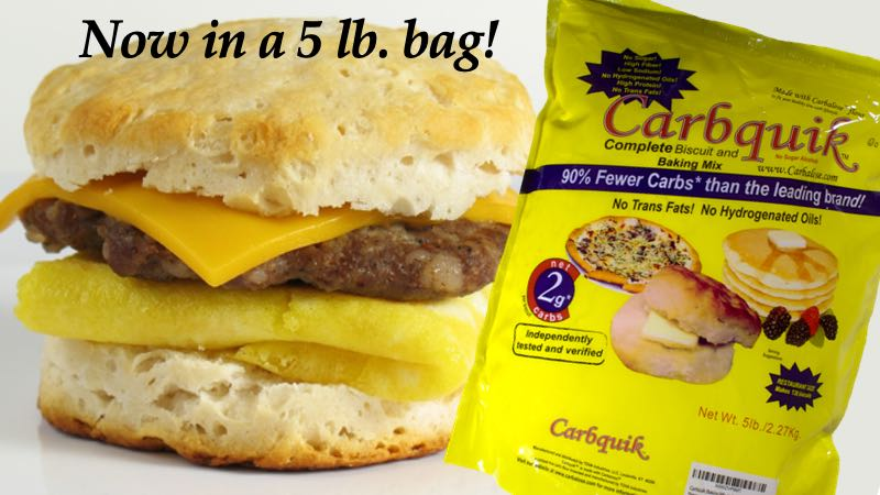 CarbQuik Now in a 5 Pound Bag