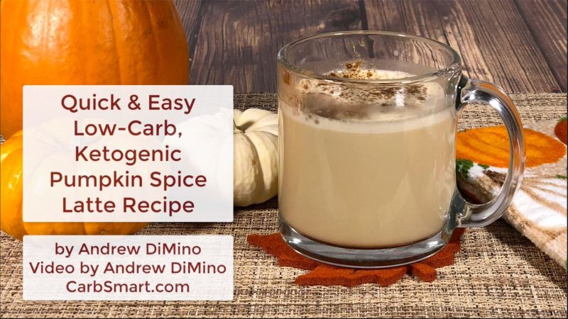 Low-Carb, Ketogenic Pumpkin Spice Latte Recipe for One