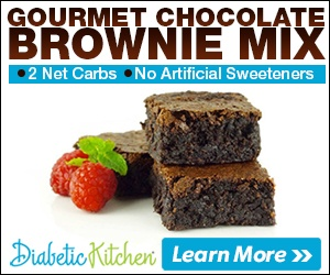 Diabetic Kitchen Brownie Mix