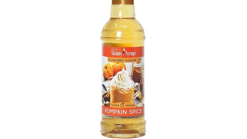 Jordan's Sugar-Free Pumpkin Spice Syrup