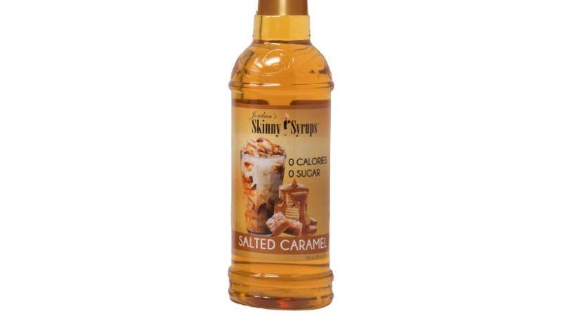 Jordan Skinny Syrup Sugar Free Salted Caramel