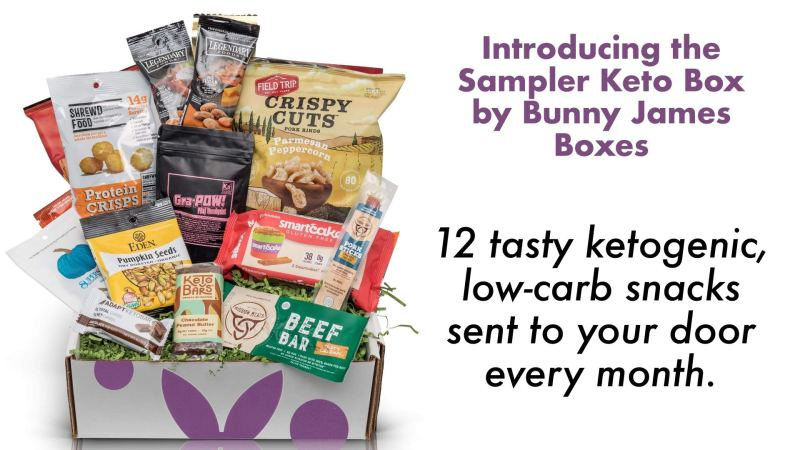 Sampler Keto Box by Bunny James Boxes