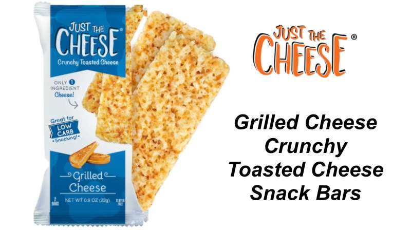 Just the Cheese Grilled Cheese Snack Bars