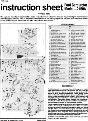 Carter 4 AFB Parts Page