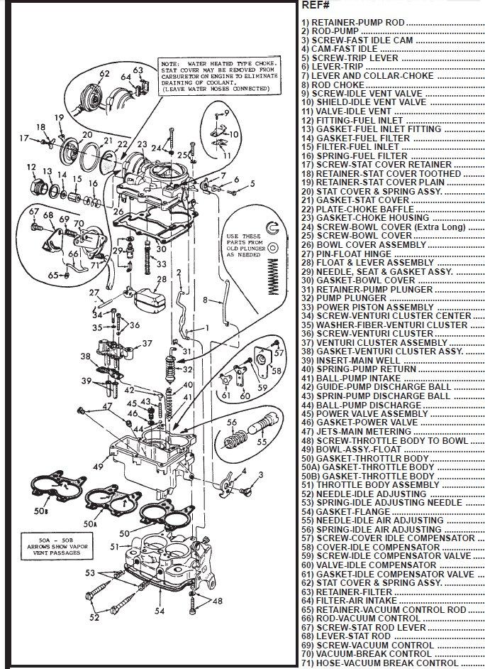 Carter Wo Carburetor Diagram