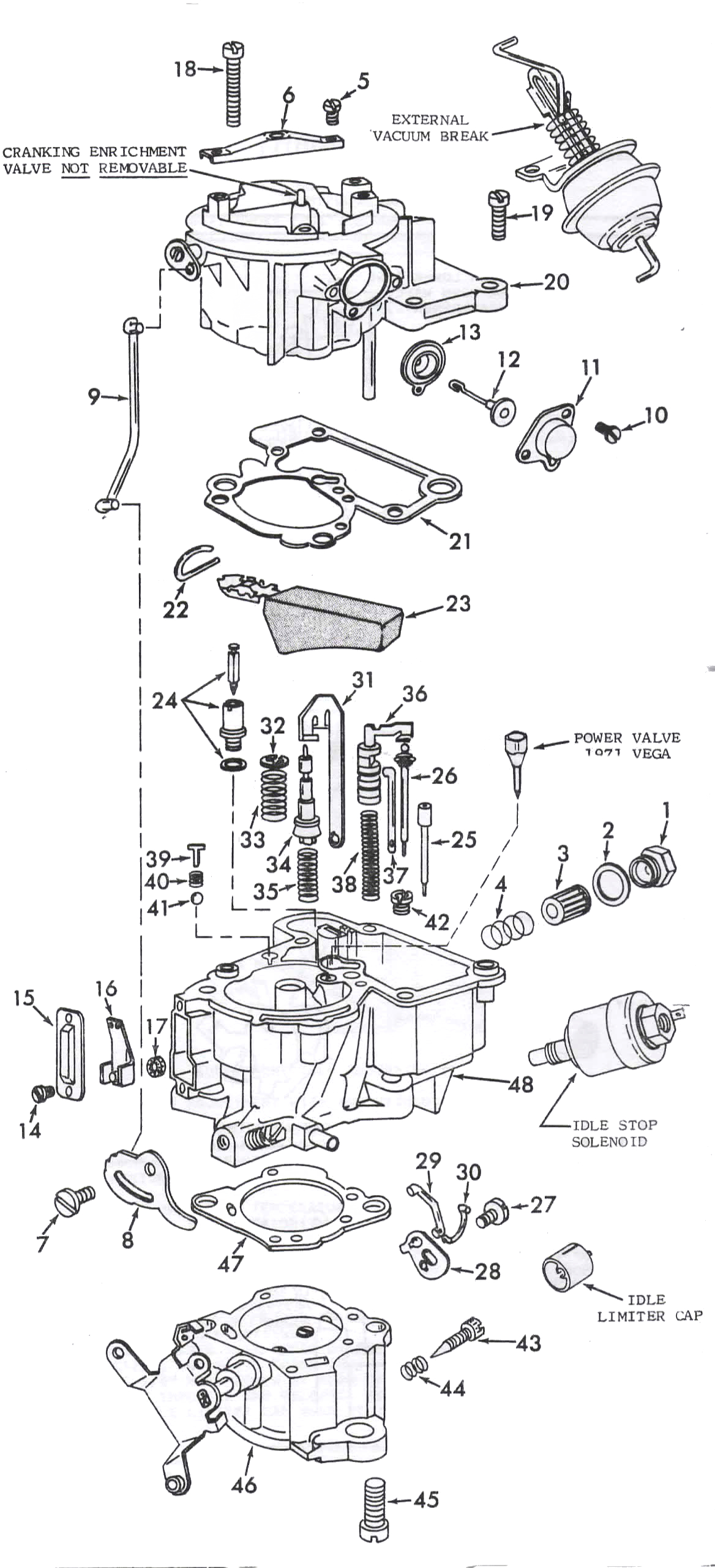 Monojet Exploded View