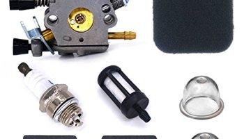 New Pack of Carburetor Air Filter Fuel Oil Cap Oil Hose Tube