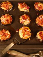 EGGPLANT AND SUN-DRIED TOMATO MINI PIZZAS