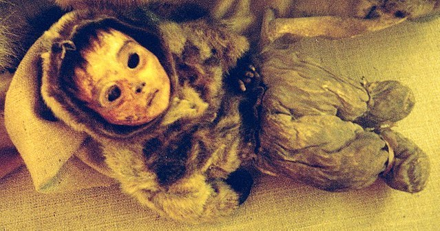 Qilakitsoq Mummy of Six Month Old Baby - on preventing aging