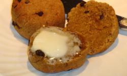 Pumpkin Spice Biscuit by Judy Barnes Baker (carbwarscookbooks.com)